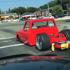 Awsome in ProGress Bagged Trucks, Lowered Trucks, C10 Trucks, Mini Trucks, Pickup Trucks, 80s Chevy Truck, Custom Chevy Trucks, Classic Chevy Trucks, Muscle Truck