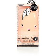 River Island Oh K orange peach scented detangle brush (169.800 IDR) ❤ liked on Polyvore featuring beauty products
