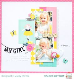 Stuck?! Sketches November 15 2016 challenge DT layout by Mandy