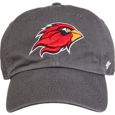 '47 Lamar University Clean Up Cap (Charcoal, Size One Size) - NCAA Licensed Product, NCAA Men's Caps at Academy Sports