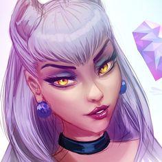 League Of Legends Poster, Evelynn League Of Legends, Riot Games, Queen, Anime Art Girl, Akira, Character Art, Lol, Princess Zelda