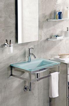 Glass vanity top VO05089 Ondyna - Cristina