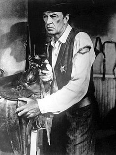 HIGH NOON - Gary Cooper - Thomas Mitchell - Lloyd Bridges - Katy Jurado - Grace Kelly - Hardy Kruger - Produced by Stanley Kramer - Directed by Fred Zinneman - United Artists - Publicity Still. Gary Cooper, Hollywood Stars, Classic Hollywood, Old Hollywood, High Noon, Lauren Bacall, Cary Grant, John Wayne, Alfred Hitchcock
