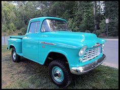 1956 Chevrolet  Pickup NAPCO 4-Wheel Drive  #Mecum #Chicago