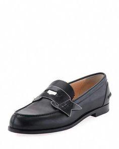 c85b30507b9 CHRISTIAN LOUBOUTIN Monana Patent Flat Loafer