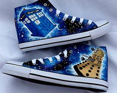 Doctor Who-Schuhe