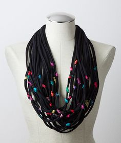 Multi-Strand Confetti Scarf, Scarves, Apparel & Accessories, New Gifts For Fall - The Museum Shop of The Art Institute of Chicago