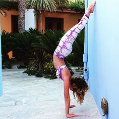 Time to do a handstand, the weekend's here!