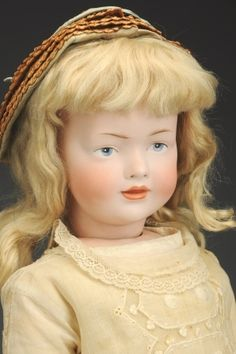 September 21 Doll Auction: Lot # 435 | Fabulous H.S. & Co. 141 Character Doll #MorphyAuctions