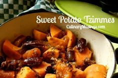 Passover Recipes - Sweet Potato Tzimmes