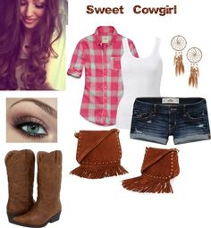 """""""Sweet Cowgirl"""" by susan12370 on Polyvore"""