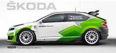 Car Stickers, Car Decals, Vehicle Signage, Skoda Fabia, Futuristic Cars, Sweet Cars, Car Tuning, Car Painting, Rally Car
