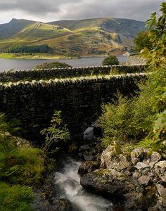 The stone bridge of Haweswater, Cumbria