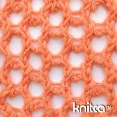 Lace :: 20  This stitch pattern is all about holes. Awesome openwork that it creates is perfect for beach cover-ups and light wraps. It will also look great as a border of a tunic or skirt.