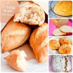 recetas de pan My Recipes, Cooking Recipes, Favorite Recipes, Recipies, Food N, Food And Drink, Baguette, Mexican Sweet Breads, Pan Relleno