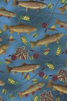 Fishing Fabric Google Search Scrubs Pinterest The