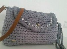 Tasche Damentasche Handbag Designertasche Borsa trapillo 100%Handmade TOP NEU