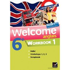 Anglais 6e Welcome - Workbook en 2 volumes (Pack)