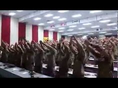 America's Marines Singing 'Days of Elijah'  This is beautiful and made me cry. Real men love Jesus!  May God bless and protect each one of these warriors, and may God bless and revive America!