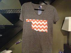 Oklahoma State Chevron Gameday Shirt