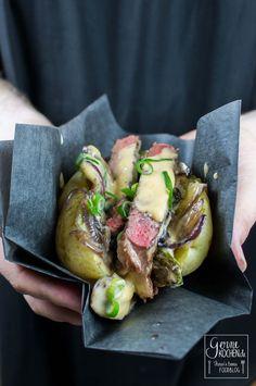 Kumpir Philly Cheese Style - Gefüllte Kartoffel #BBQ, #Fleisch, #Rind, #Sauce, #Soulfood, #Thermomix #foodblog #foodie #food #rezept #foodblog_de #foodpics #rezepte www.gernekochen.d...