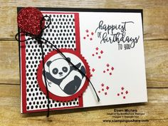 January 2018 Stamping to Share Meeting Swap: Something NEW for a Birthday Card! - Stamping To Share