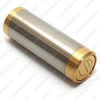 Luxe Mods 18350 PV - Steel & Brass - Creme de Vape