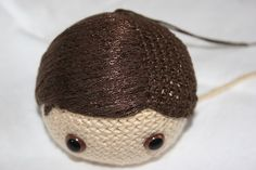 Amigurumi hair tutorial I wanted to share how I make the hair for my amigurumi. I always wished that someone had shared this information when I was first getting started, and I searched high and low for a couple of months before deciding. Tutorial Amigurumi, Crochet Amigurumi, Amigurumi Doll, Crochet Dolls, Crochet For Boys, Crochet Baby, Knit Crochet, Hair Yarn, Kawaii Crochet