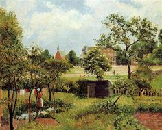View Across Stamford Brook Common - Camille Pissarro