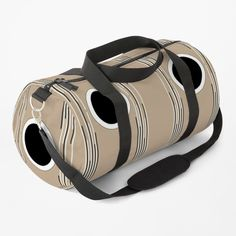 """""""Together - Lines and Curves - Set 2"""" Duffle Bag by LAEC-Shop 