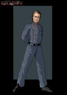 commander adama by nightwing1975 on DeviantArt