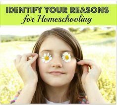 Dear Mom Who's Considering Homeschooling: Identify Your Reasons for Homeschooling - Hip Homeschool Moms