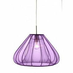 Tennessee 1 Light Mini Pendant Shade Colour: Purple: Amazon.co.uk: Lighting
