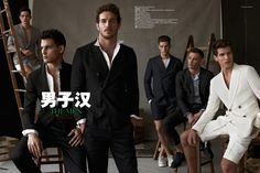 Can't get enough of this spread in the latest GQ China featuring models: Satoshi Toda, Michael Altman, Adrian Cardoso, Logan Macare, Ben Howard and Ilain Wallace wearing a mix of Emporio Armani, Prada and Bottega Veneta. #fashion #gqchina #gq #editorial #moda #models #mensstyle #mensfashion #mensfashionfix #prada #emporioarmani #bottegaveneta