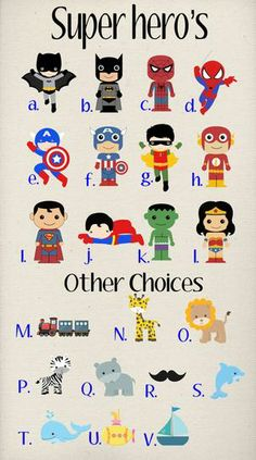 Set of 2 Personalized Super Hero Bag Tags by Purely Personalized | Hatch.co #custom
