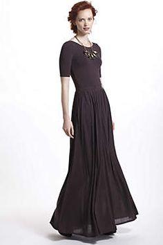 Scoopback Maxi Dress