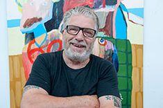 Cobra kunst hos Galleri Python- Naivistisk kunst af Leif Sylvester