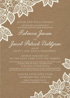 lds wedding invitation wording google search