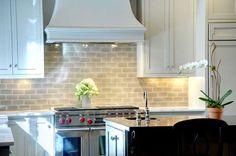 Love the kitchen backsplash