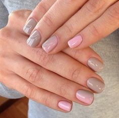 Stylish manicure