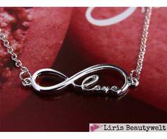 Armband Infinity Love Silber   Liris Beautywelt Online-Shop