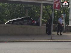 Er dachte es sei die Parkhauseinfahrt: Autofahrer fährt Walchetreppe runter | Blick