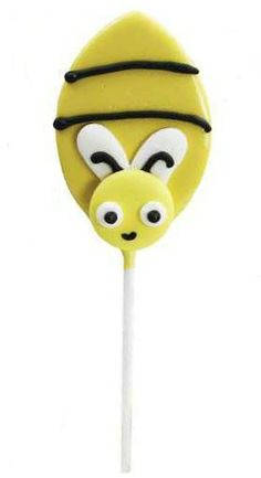 bee - gives me an idea for a chocolate covered spoon - bee theme...