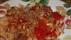 Low Carb Stuffed Cabbage Casserole Recipe