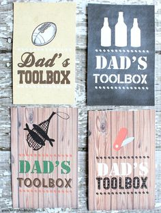 Dad's Toolbox Free Printable