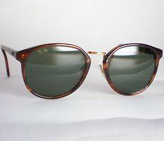 Vintage Ray Ban B&L USA TRADITIONALS Sunglasses tortoise round gatsby wayfarer - $72.30 - http://www.12pmsunglasses.com/on-sale/Vintage-RAY-BAN-Gatsby.html