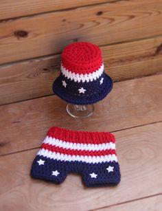 Newborn Patriotic/4th of July/Memorial Day Top by MySweetPeaProps, $28.50