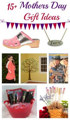 Mother's Day Gift Guide 2015 - gift ideas for mom or grandma that would also work as birthday gifts for women!