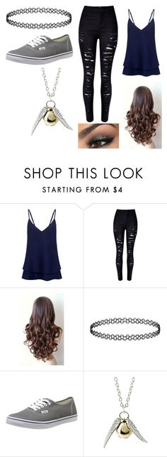 """Youtube rp m"" by dawnlions on Polyvore featuring C/MEO COLLECTIVE, Vans, women's clothing, women, female, woman, misses and juniors"