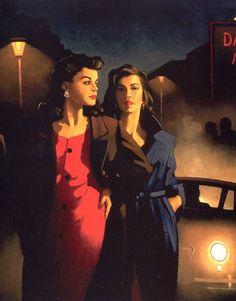 Jack Vettriano | Sweet In The Night